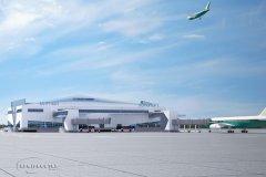 Концептуальный проект развития аэропорта Мирный, Якутия