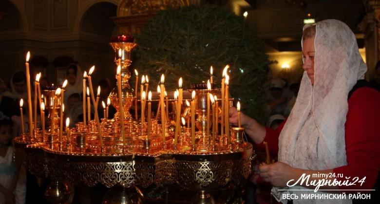 Рождество в Удачном фото 2