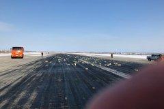 В Якутии из оторвавшегося люка самолета высыпалось золото