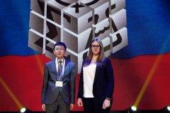 Школьники из Мирного успешно выступили на Всероссийском форуме научной молодежи