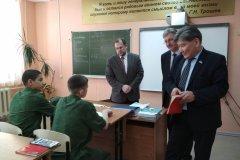 Кадетская школа в п. Чернышевский оказалась в трудном финансовом положении