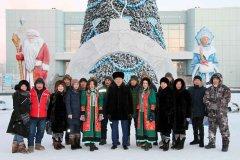 Открытый городской конкурс ледовых скульптур стартовал блиц-турниром