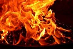 Возгорание в 9-тиэтажном доме на улице Комсомольская в г. Мирный