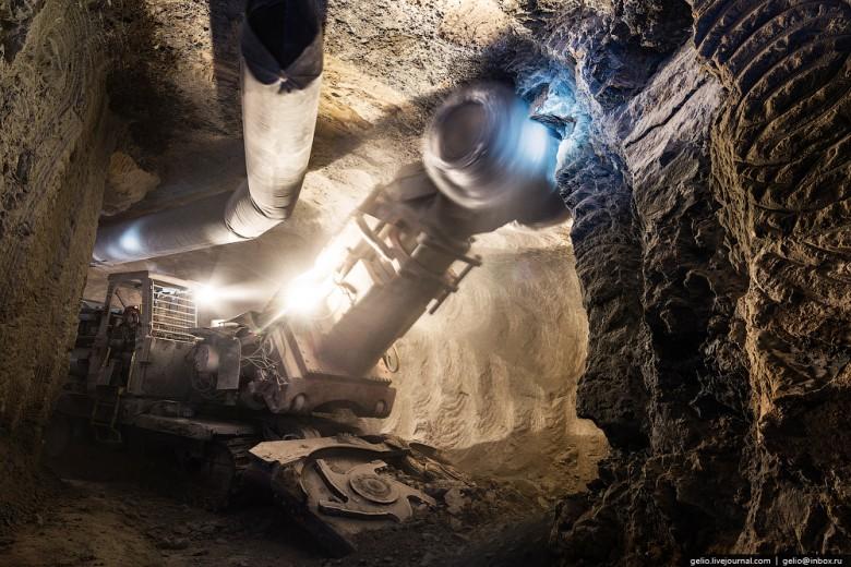 Как добывают алмазы. Компания «АЛРОСА». Мирнинский и Нюрбинский ГОК фото 17