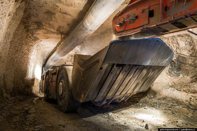 Как добывают алмазы. Компания «АЛРОСА». Мирнинский и Нюрбинский ГОК фото 19