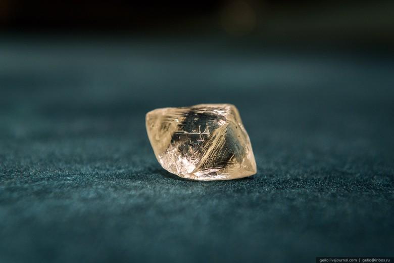 Как добывают алмазы. Компания «АЛРОСА». Мирнинский и Нюрбинский ГОК фото 44