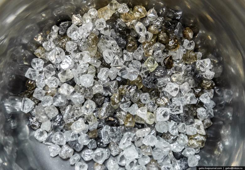 Как добывают алмазы. Компания «АЛРОСА». Мирнинский и Нюрбинский ГОК фото 42