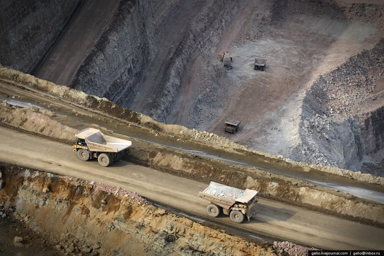 Как добывают алмазы. Компания «АЛРОСА». Мирнинский и Нюрбинский ГОК фото 28