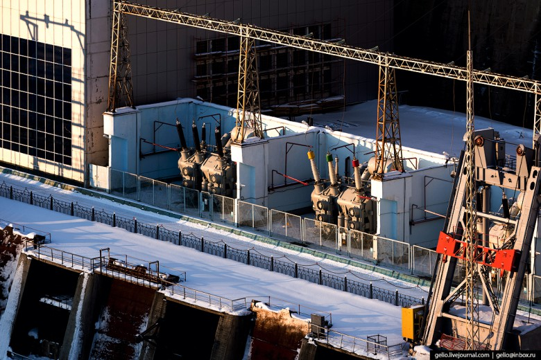 Каскад Вилюйских ГЭС: «бриллианты» энергетики Якутии фото 18