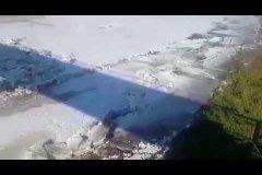 Большая Ботуобия. Начало ледохода 2018